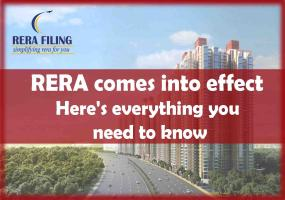 RERA comes into effect tomorrow: Here is everything you need to know