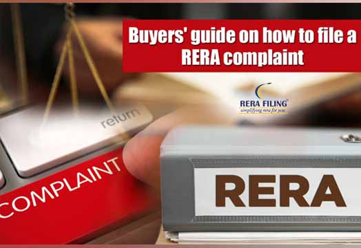 How to file complaint in RERA Delhi?