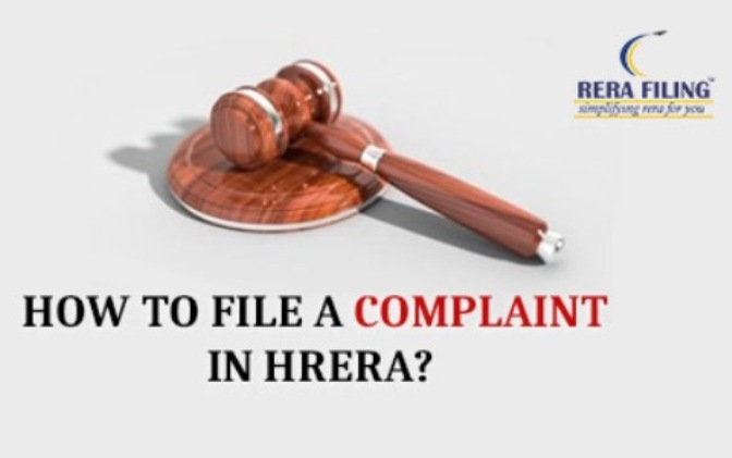 How to file a complaint in HRERA?