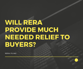 Will RERA provide much needed relief to buyers?
