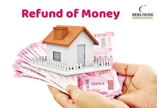 Refund of money in case of Cancellation of Property Deal