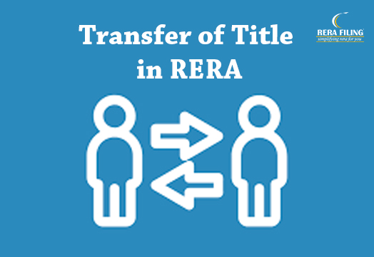 Transfer of Title in RERA