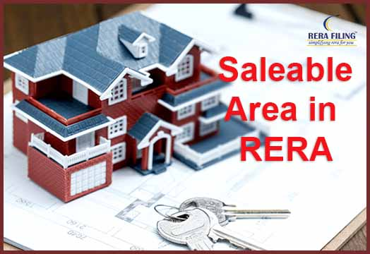 What is Saleable Area in RERA?