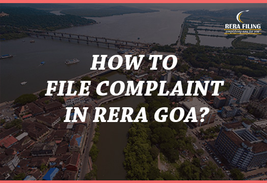 How to file complaint in RERA Goa?