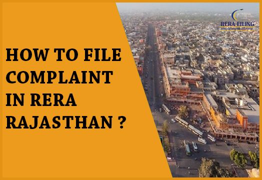 How to file complaint in RERA Rajasthan?