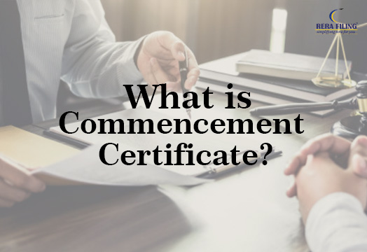 What is Commencement Certificate?