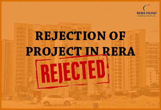 Rejection of project in RERA