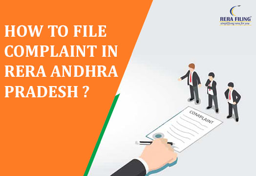How to file complaint in RERA Andhra Pradesh?