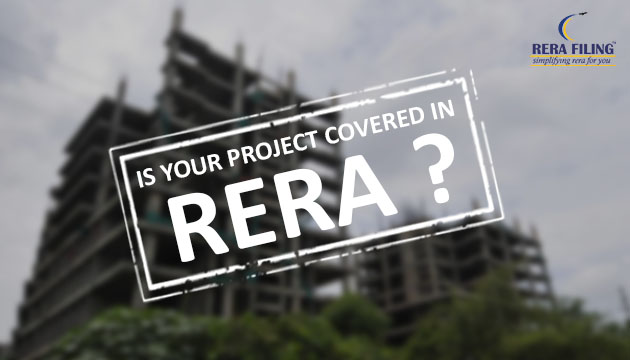 Is your project covered in RERA ?