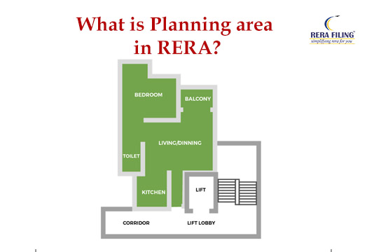 What is Planning area in RERA?