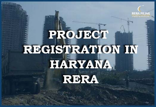 Project Registration process in RERA Haryana
