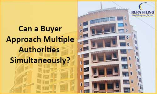 Can a buyer approach multiple authorities simultaneously?