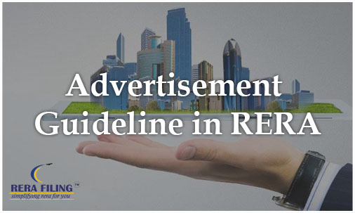 Advertisement guideline in RERA
