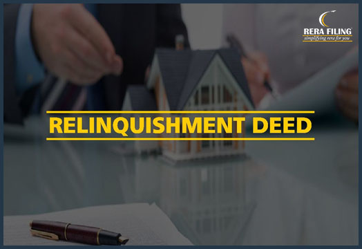 What is Relinquishment deed?