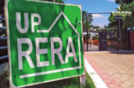 Auction of unsold flats by UPRERA