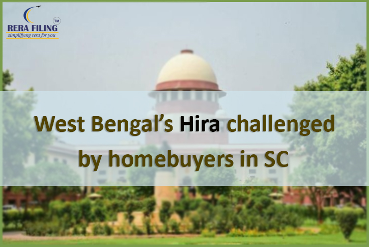 West Bengal's Hira challenged by homebuyers in SC