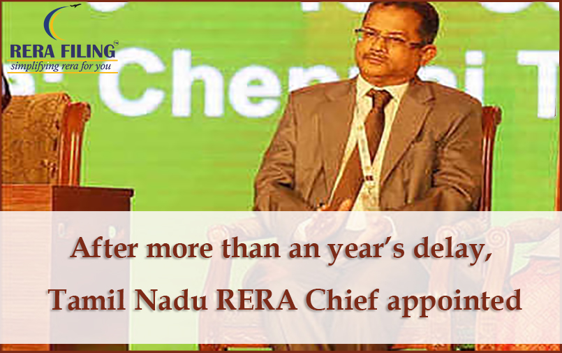 After more than an year's delay, Tamil Nadu RERA Chief appointed