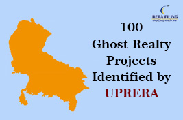 100 ghost realty projects identified by UPRERA