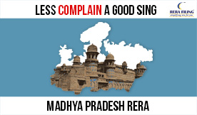 No. of complaints have dropped by 40% in Madhya Pradesh RERA, indicating a good sign