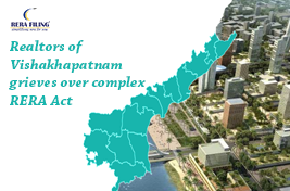 Realtors of Vishakhapatnam grieves over complex RERA Act